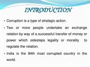 Corruption In India Essay by Corruption In India