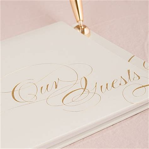 Wedding Pages Inc by Elegance Special Occasion Guest Book And Pen With