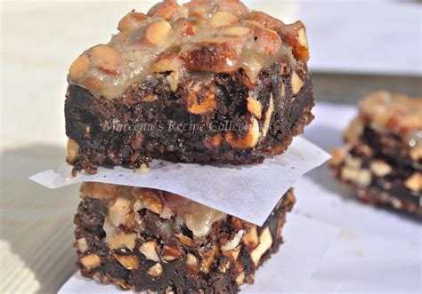 Flourless Brownies Almond And Oat Brownies flourless caramel almond brownies recipe mareena s recipe collections
