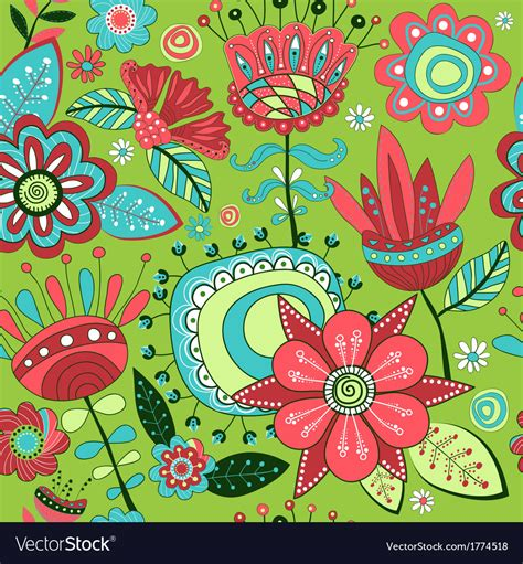 pattern magic download seamless pattern magic flowers vector art download