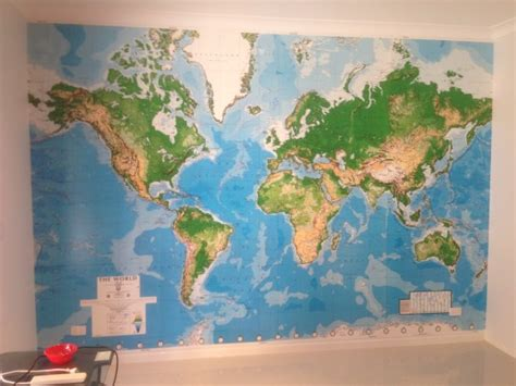 wall mural maps world map wallpaper mural