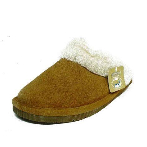 cloud slippers cloud nine sheepskin s300l scuff slippers mocha wool color