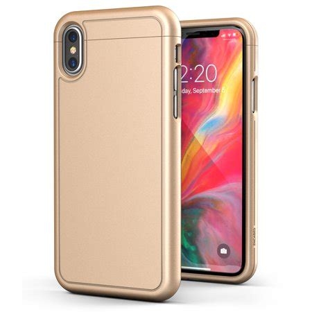 iphone xs max slim ultra thin protective grip cover slimshield gold walmart