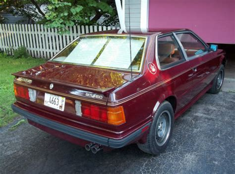 old maserati biturbo 1984 maserati biturbo classic italian cars for sale