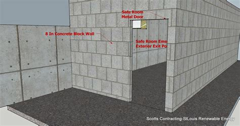 building a safe room stlouis renewable energy tornado safe room design