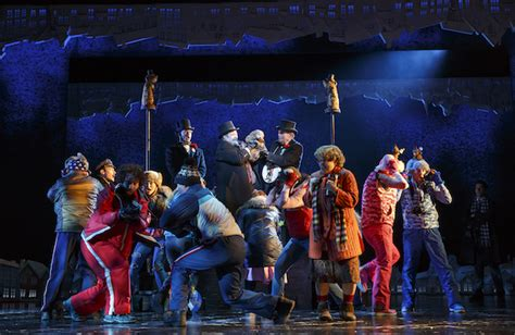 groundhog day broadway cast review broadway s groundhog day the broadwayblog