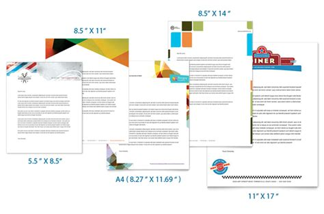 business letterhead size letterhead sizes custom letterhead printing uprinting