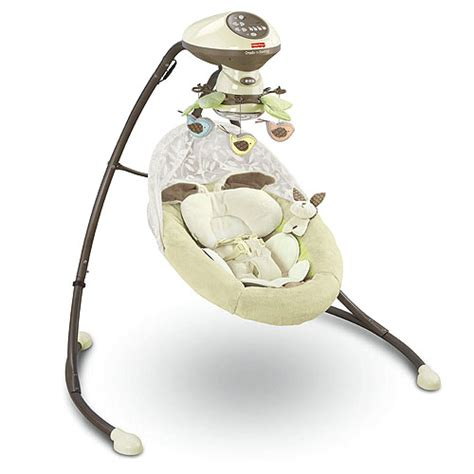 fisher price cradle n swing instructions my little snugabunny cradle n swing ptpa winner