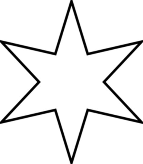 six pointed star clip art at clker com vector clip art
