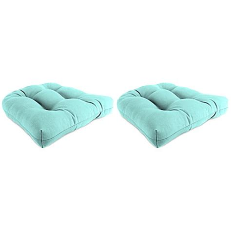 pool chair cushions buy outdoor 19 inch wicker chair cushions in sunburst pool