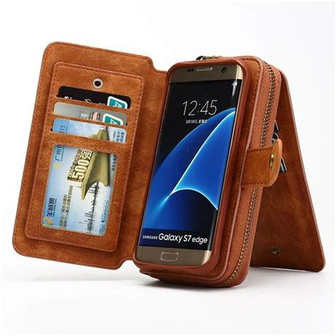 Casing Samsung S7 S7edge Smartcase Leather Type 1 multifunctional detachable zipper wallet for samsung galaxy s7 s7edge pu leather flip
