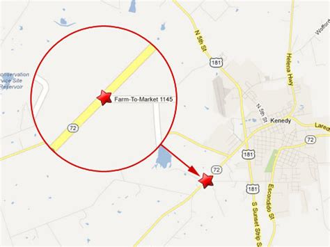 kennedy texas map four killed in fatal crash with 18 wheeler in kenedy tx truck lawyer news