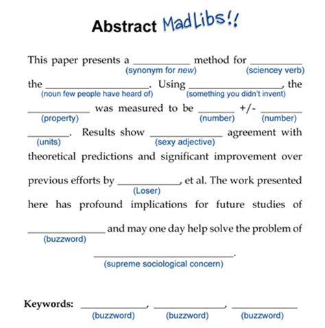 How To Make An Abstract For Research Paper - 187 how to write a conference abstract or how not to write