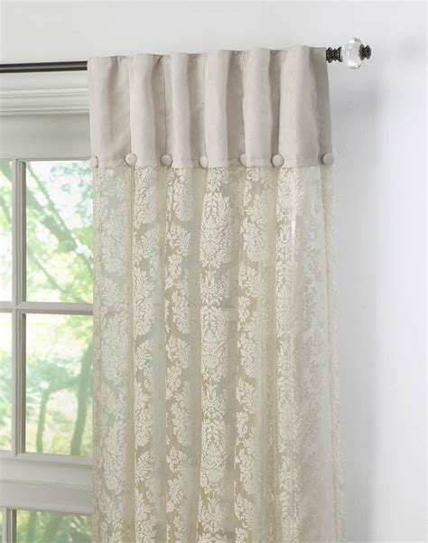 inverted pleat curtains traditional damask lace inverted pleat curtain panel