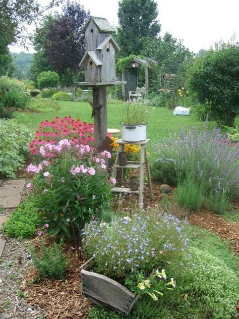gartenideen cottage garten country birdhouse birdhouse vogelh 228 uschen