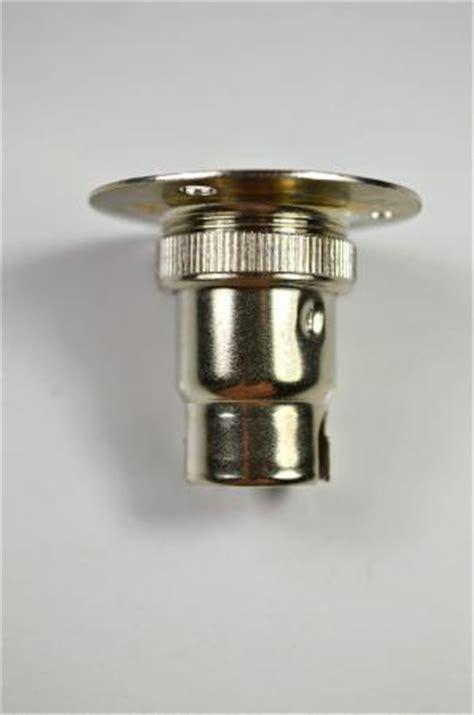batten holder light fitting nickel small bayonet batten fitting bulb holder l