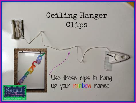 Ceiling Hangers For Classrooms by Using Names To Decorate The Classroom J Creations