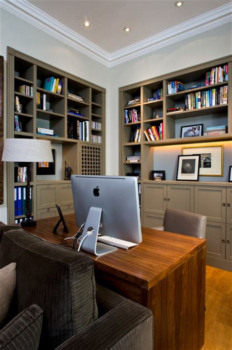 home office design ltd uk study transitional home office library london by