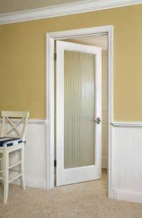 reed glass door contemporary interior doors orange