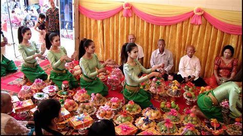 Cambodian Wedding Ceremony   YouTube