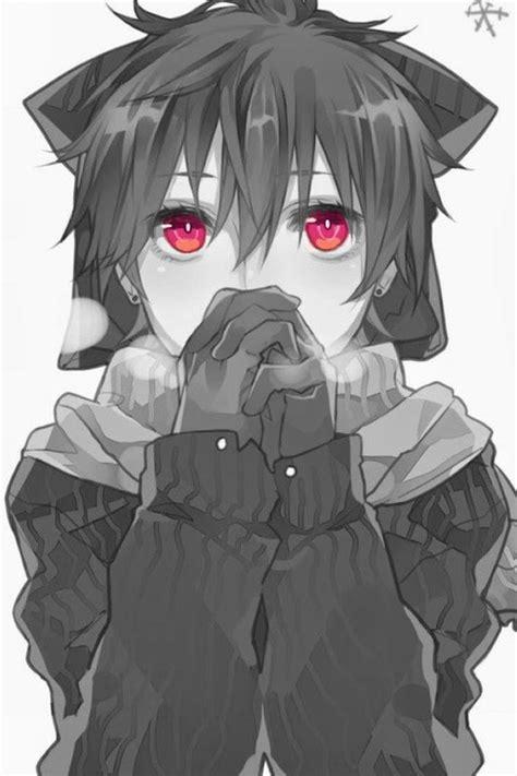 anime boy cold anime cold