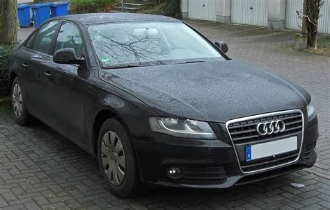 Audi A4b8 by Why Do The A4 B8 S Two Different Headlight Versions