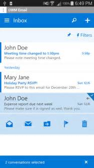 Office 365 Outlook Version Compatibility Owm For Outlook Owa 2016 Email Android Apps On Play