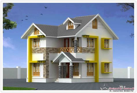 kerala home design duplex amazing duplex kerala style house design at 1440 sq ft