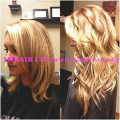 hair fusion applied to short hair before and after 1000 images about nano ring extensions before after