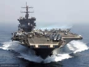 les etats unis envoyent un vieux navire de guerre dans le