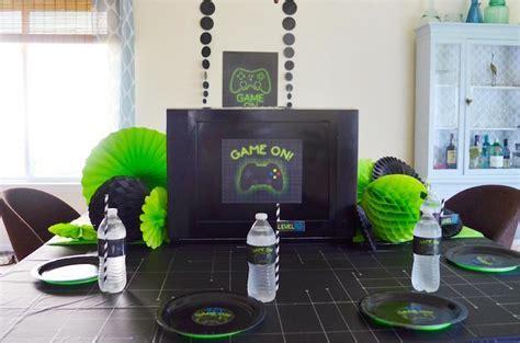 Kara's Party Ideas Gaming   Video Gamer Birthday Party