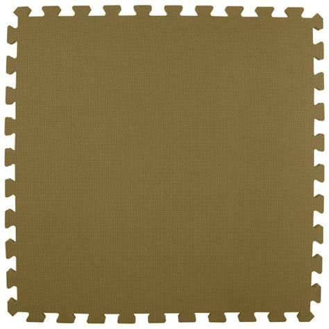 greatmats premium brown 24 in x 24 in x 5 8 in foam