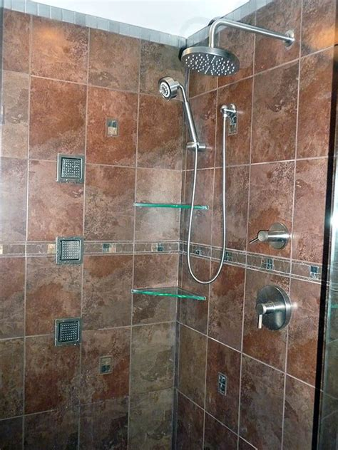 Bathroom Designs Ideas Pictures Rainhead Handheld Two Controls Multiple Side Spouts