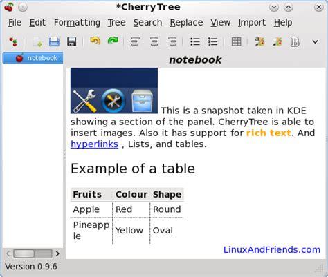 cherry tree notes 替代onenote的工具 csdn博客