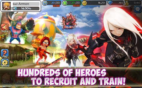 game rpg action mod apk game action rpg sosial online hello hero mod apk miftatnn