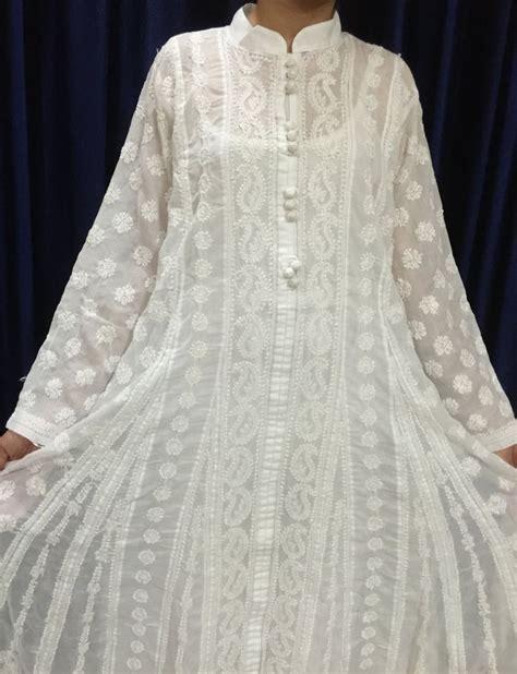 Dress Maxi Pita 39 best lucknowi chikankari suits images on