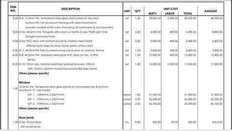 design and build contract bill of quantities ici processing on emaze