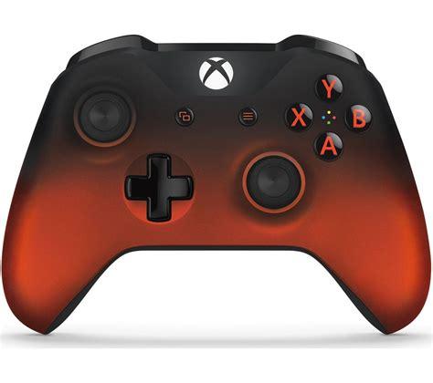 Microsoft Xbox Controller microsoft xbox volcano shadow wireless controller metallic deals pc world
