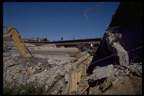 earthquake california northridge ca earthquake damage