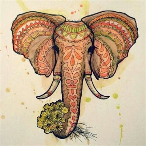 elephant tattoo uruguay 4440 best images about a elephant art on pinterest