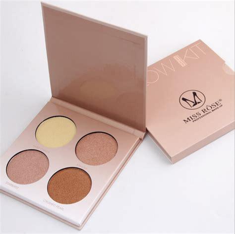 matte contour kit miss makeup brighten bronzer and highlighter 4 colors