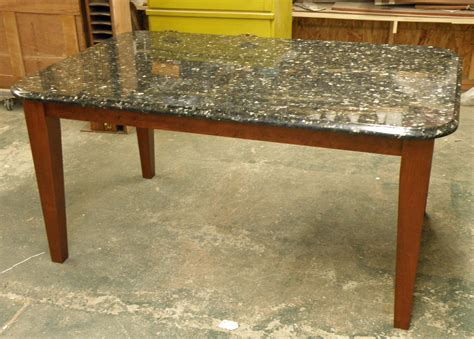 granite table contemporary granite table supported by osborne tapered