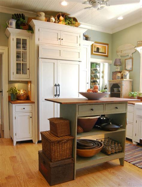 Cottage Style Kitchen Island by 1890 Cottage Style Kitchen Traditional Cincinnati By
