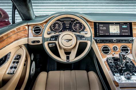 bentley continental interior 2018 2018 bentley continental gt drive autocar