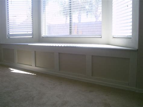 white window bench pneumatic addict putting on eyeliner diy window trim