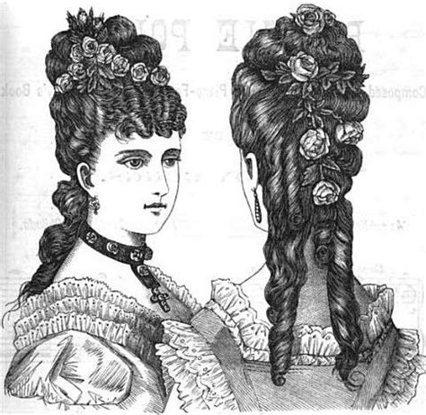 hairstyles 1800s 1870s late victorian woman hairstyles competition hair