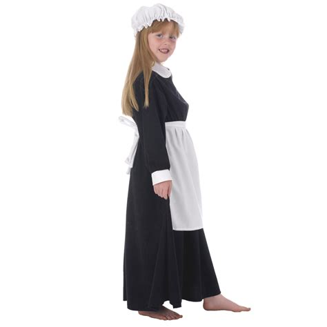 Victorian Maid Costume, Girls Victorian Outfit