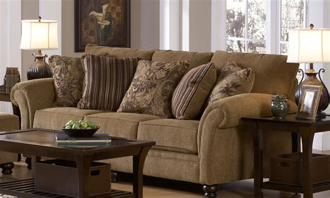 burlap couch jackson suffolk sofa set burlap jf 4426 sofa set at