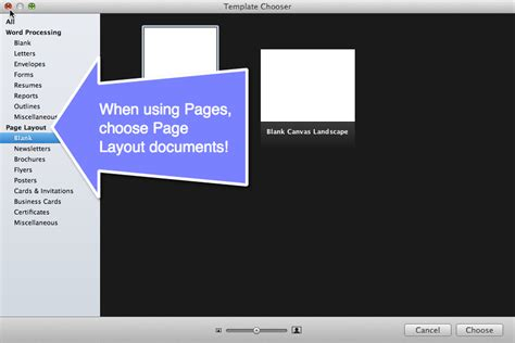 book layout pages mac creating documents using pages on the mac teacher tech