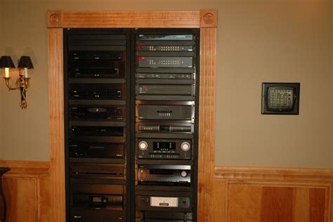 audio component rack entertainment technology